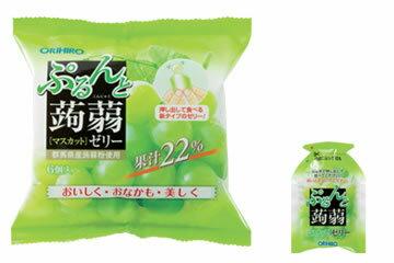オリヒロ ぷるんと蒟蒻ゼリー マスカット 新パウチ (6個入) ツルハドラッグ