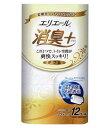 エリエール トイレットティシュー 消臭プラス 消臭+ フレッシュクリアの香り ダブル (12ロール) トイレットペーパー ツルハドラッグ