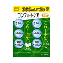 エイエムオー コンフォートケア (360ml×2本) ソフトコンタクトレンズ用 洗浄・すすぎ・消毒・保存液 ツルハドラッグ