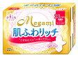 【特売セール】 大王製紙 エリス メガミ Megami 肌ふわリッチ 多い日の昼用 羽つき スリム 23cm (22枚入)