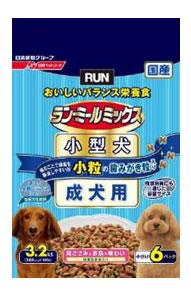 【特売】 日清ペット ランミールミックス 小粒 健康を維持したい成犬用 (3.2kg) ツルハドラッグ