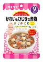 キューピー ベビーフード ハッピーレシピ かれいとひじきの煮物 9ヶ月頃から (80g) ツルハドラッグ