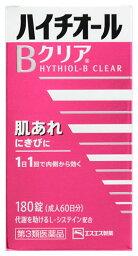 【第3類医薬品】エスエス製薬 ハイチオールBクリア (180錠) 肌アレ にきびに ツルハドラッグ