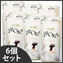 《セット販売》 花王 フレア フレグランス イロカ IROKA エアリー つめかえ用 (480ml)×6個セット 詰め替え用 柔軟剤 ツルハドラッグ