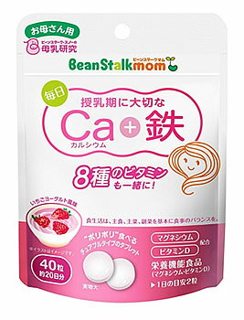 雪印ビーンスタークビーンスタークマム毎日カルシウム+鉄約20日分(40粒)マタニティサプリメント栄養