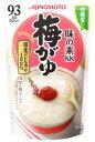 味の素 KK おかゆ 梅がゆ 1人前 (250g) レトル