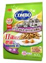 日本ペットフード コンボ キャット 肥満が気になる猫用 11歳以上 (120g×5袋) キャットフード ドライ