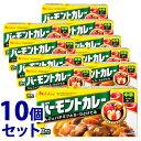 《セット販売》 ハウス食品 バーモントカレー 中辛 12皿分 (230g)×10個セット カレールウ ※軽減税率対象商品