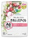 楽天ツルハドラッグ花王 ロリエ きれいスタイル Ag エアリーローズの香り (62コ入) パンティライナー