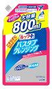 ライオン ルックプラス バスタブクレンジング フローラルソープの香り 大サイズ つめかえ用 (800mL) 詰め替え用 浴室用洗剤