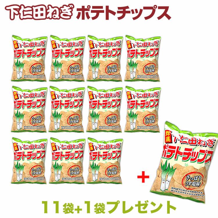 群馬 お土産 送料無料 下仁田ねぎチップス 12...の商品画像