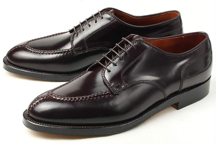 大きいサイズ 靴 Alden(オールデン) Norwegian Front Blucher Oxford(ノルウェージャン フロント ブラッチャー オックスフォード) 2210 D ダークバーガンディー ビッグサイズ