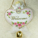 A welcome board: Angel   and plate &quot;WELCOME&amp;quot; of the angel which I went down