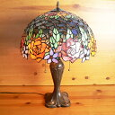 [free shipping] 40* stained glass lamp elegant rose (グレンドーラ) extra-large h60 [smtb-KD]