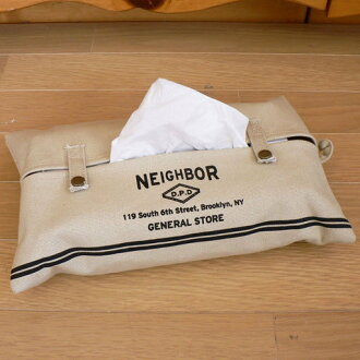 "Tissue case cover ""NEIGHBOR"""