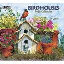 【メール便可2枚まで】2020年 LANG社(ラング)カレンダー バードハウス (Birdhouses)【8月上旬発送】