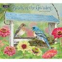 【メール便可2枚まで】2020年 LANG社(ラング)カレンダー バーズ・イン・ザ・ガーデン (Birds in The Garden)【8月上旬発送】