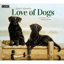 2020年 LANG社(ラング)カレンダー  ラブ オブ ドッグ (Love of dogs)