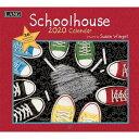 【メール便可2枚まで】2020年 LANG社(ラング)カレンダー スクールハウス(School House)【8月上旬発送】