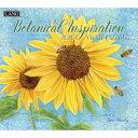 【メール便可2枚まで】2019年 LANG社(ラング)カレンダー ボタニカル インスピレーション(Botanical Inspiration)【8月上旬発送】