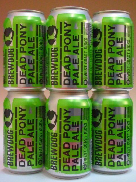 ブリュードッグ デッドポニークラブ 缶 3.8% 330ml×6本組 【クラフトビール】【スコットランド】【BrewDog】