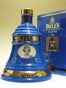 ベル8年 女王誕生75周年記念ブルーデキャンタ 並行 40度 700ml 【箱入り】【1月新商品】