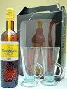 【在庫一掃セール】マンダリン・ナポレオン 38度 500ml 並行輸入品 【グラス2個付き】【箱入り】【ベルギー】【リキュール】
