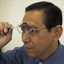 【メガネに装着】クリップオンルーペ