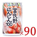 《送料無料》JAふらの 富良野にんじん100 160g × 90本セット ケース販売