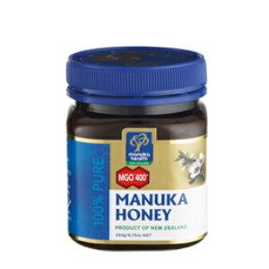 《送料無料》 マヌカヘルス マヌカハニー MGO400+ 250g [MANUKA HEALTH コサナ cosana]【はちみつ ハチミツ 蜂蜜 100% 天然 ピュア 無添加】《あす楽》