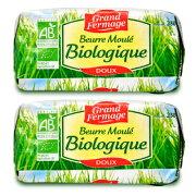 《送料無料》ユーリアル グランフェルマージュ (Grand Fermage BIO) グラスフェッドバター 250g × 2個 無塩 冷蔵手数料無料《あす楽》