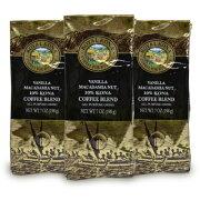 《送料無料》オリエントコマース ロイヤルコナ コーヒー ヴァニラマカダミアナッツ 198g × 3袋《あす楽》