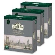 富永貿易 AHMAD アーマッドティー 紅茶 デカフェ アールグレイ 100P × 3個《あす楽》
