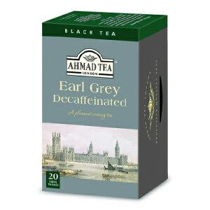 富永貿易 AHMAD TEA デカフェ アールグレイ ティーバ