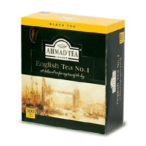 富永貿易 AHMAD TEA アーマッドティー 紅茶 NO.1 100P