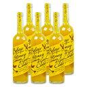 《送料無料》ユウキ食品 コーディアルハニーレモン&ジンジャー 500ml × 6本 ケース販売《あす楽》