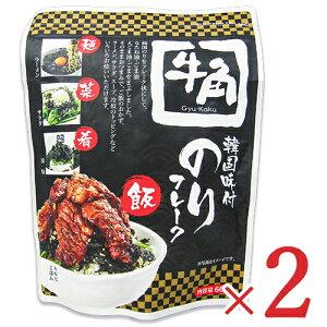 フードレーベル 牛角 韓国味付のり フレーク 60g × 2