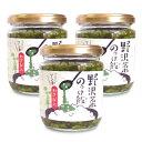 穂高観光食品 野沢菜のっけ飯 わさび入 190g × 3個