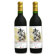 《送料無料》北海道ワイン おたる特撰キャンベルアーリ赤720ml × 2本《あす楽》