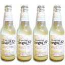 BCGA フレッシュジンジャーエール オリジナル 355ml × 4本セット 瓶 【ジンジャエール ショウガ 生姜 ジュース 炭酸 アメリカ】《あす楽》