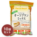 《送料無料》 鳥越製粉 低糖質オーツブランミックス 1kg (1000g)× 10袋 《あす楽》
