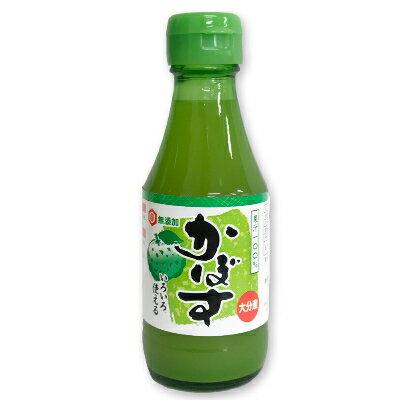 宮島醤油 無添加 かぼす果汁 150ml 【かぼす カボス 国産 国内産】《あす楽》