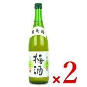 《送料無料》賀茂鶴酒造 純米酒仕込み 梅酒 720ml × 2本《あす楽》