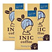 《メール便で送料無料》イニックコーヒー INIC COFFEE モーニングアロマ [ 4g×12本 ] × 3個