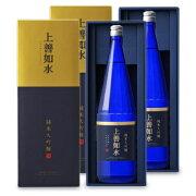 《送料無料》白瀧酒造 上善如水 純米大吟醸 1800ml × 2本 化粧箱《あす楽》