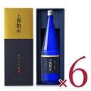 《送料無料》白瀧酒造 上善如水 純米大吟醸 1800ml × 6本 化粧箱 ケース販売《あす楽》