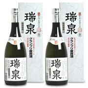 《送料無料》瑞泉酒造 単式 40度 瑞泉 泡盛 古酒 720ml × 2本《あす楽》
