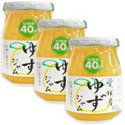 伊豆フェルメンテ 愛媛産柚ジャム 300g × 3本 【ゆずジャム ゆず ジャム】《あす楽》