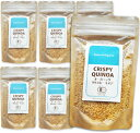 《送料無料》 桜井食品 オーガニック クリスピーキヌア 70g × 6袋 [有機JAS]【有機 キヌア キノア キンワ】《あす楽》