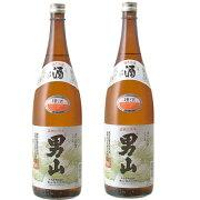清酒 男山 1.8L × 2本[北海道]一升瓶【お酒 日本酒 おとこやま】《あす楽》